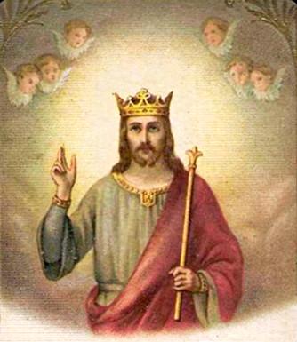 Le Petit Sacristain: Hymne au Christ-Roi